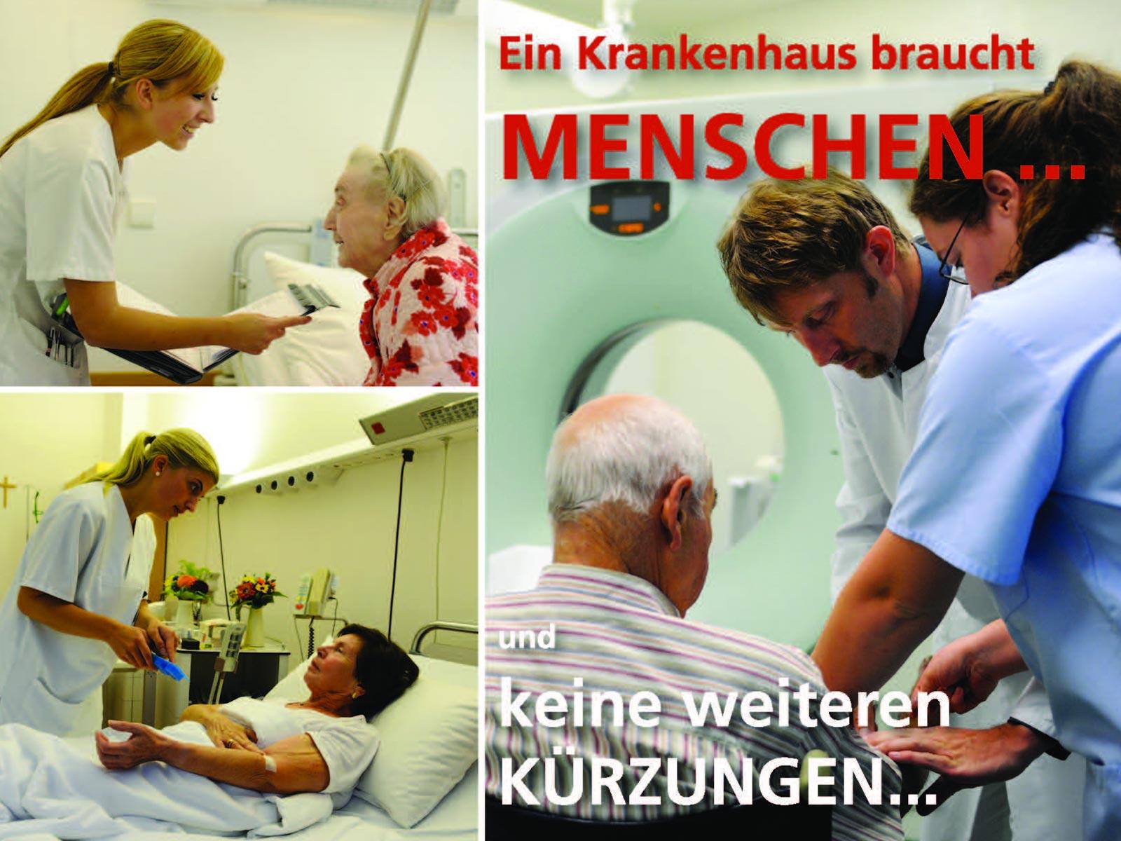 Postkartenaktion gegen geplantes Krankenhaus-Strukturgesetz