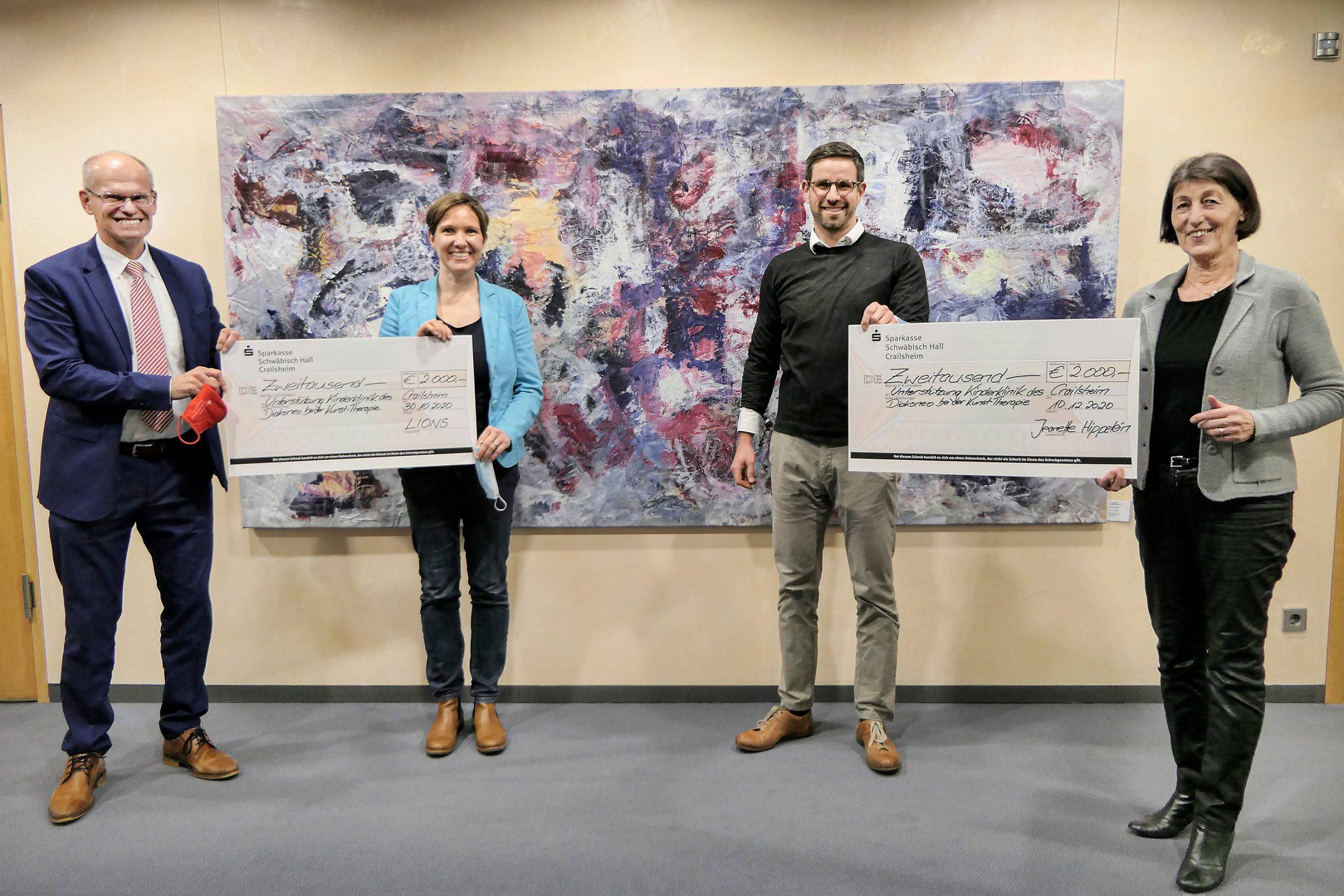 4000 Euro für den Förderverein