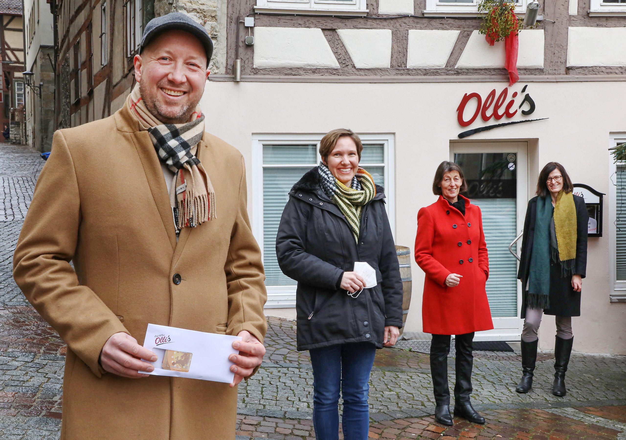 Beuteltigerstarke Unterstützung von Olli's Bar