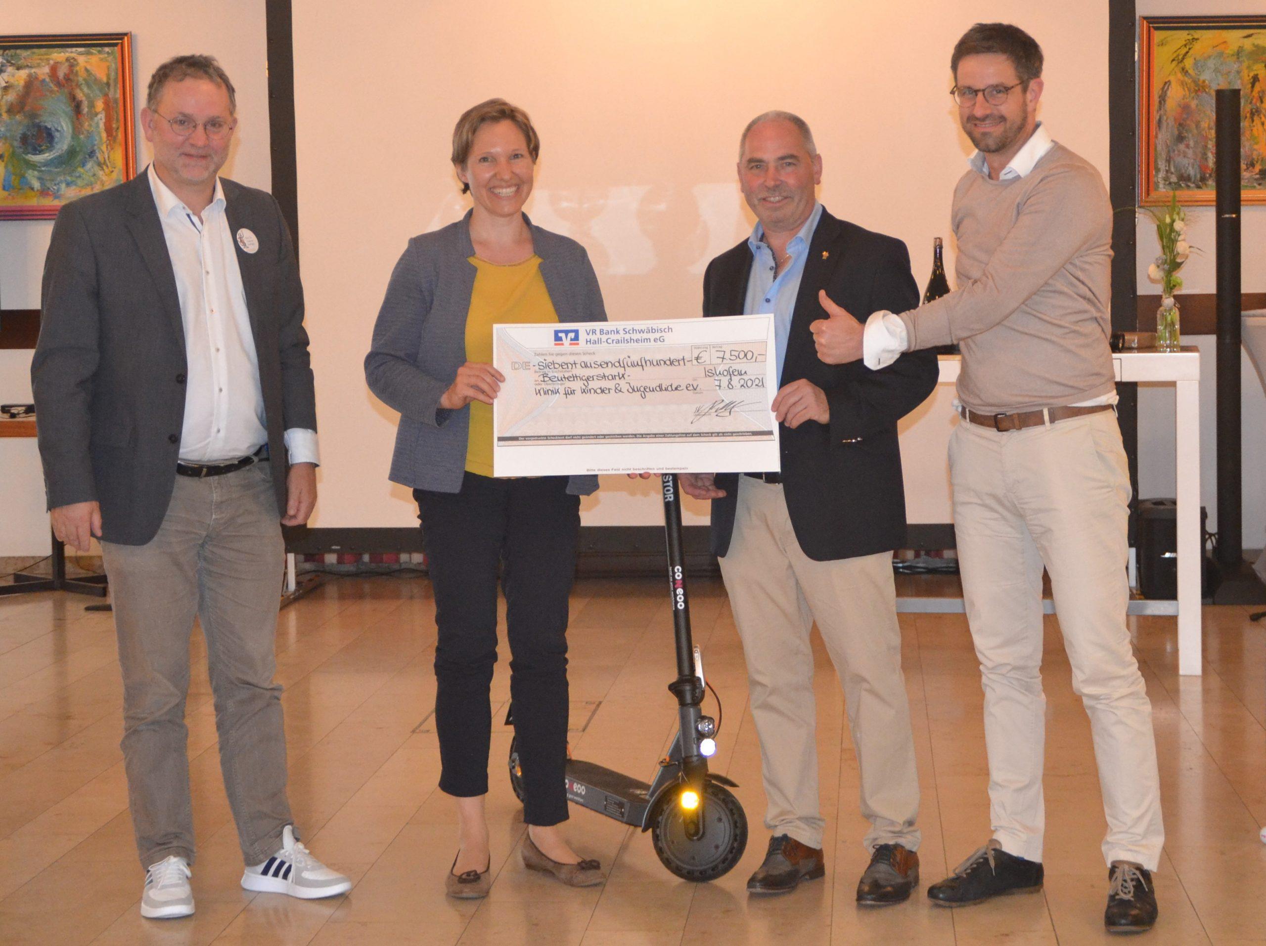 Charity Golf Cup: 7.500 € an den Förderverein